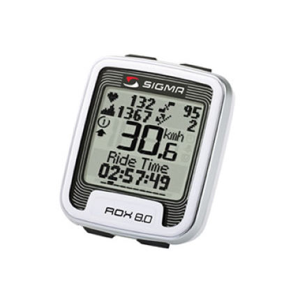Sigma Sport Rox 8.0 Wireless Cycle Computer with Heart Rate