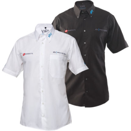 Team Sky Short Sleeve Work Shirt