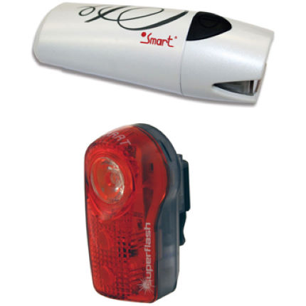Smart Lunar 25 Lux Front and 1/2 Watt Rear Light Set