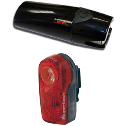 Smart Lunar 35 Lux Front and 1/2 Watt Rear Light Set