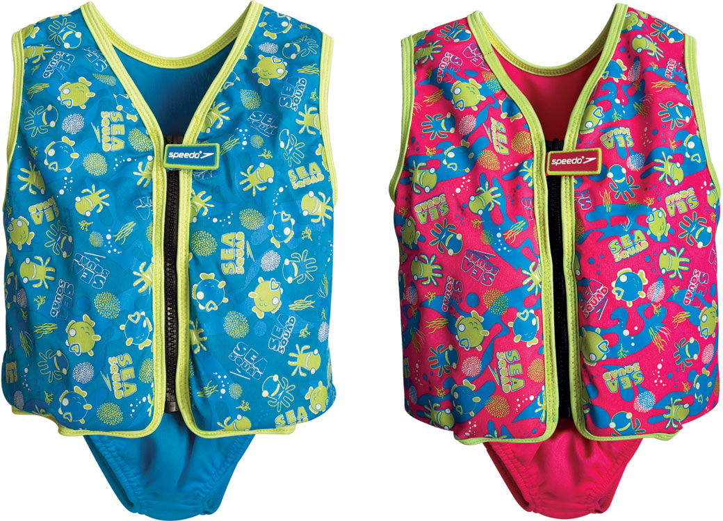 apprendre nager speedo sea squad swim vest aw13. Black Bedroom Furniture Sets. Home Design Ideas