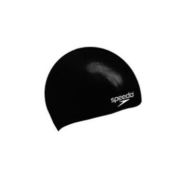 Speedo Plain Moulded Silicone Junior Swimming Cap 2012