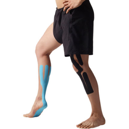 Sporttape SpiderTech Calf and Arch Precut Kinesiology Tape
