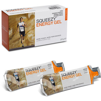 Squeezy Energy Gel Box of 10 x 25g Sachets