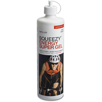 Squeezy Energy (and Super) Gel Racer 500ml Bottle Refiller