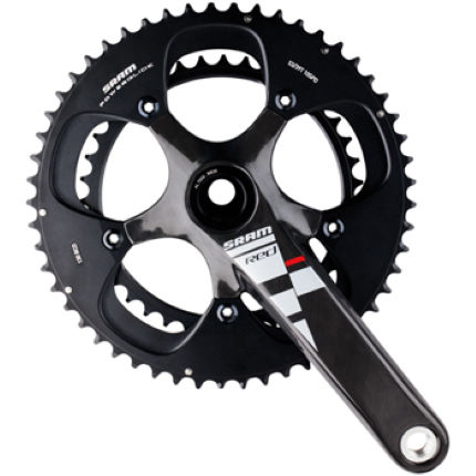 SRAM Red Black GXP Double Chainset 2011