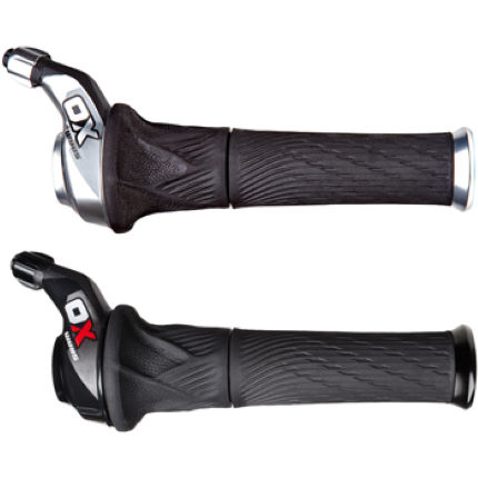 SRAM X0 Grip Shift Set (3x10) with Lock-On Grips