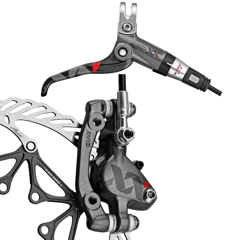 Wiggle avid xx carbon mag disc brakes 185mm rotor disc brakes