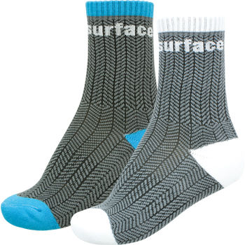 Surface Crew Herringbone Sock