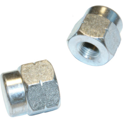 Tacx Axle Nuts (3/8 Inch) for Non QR Wheels