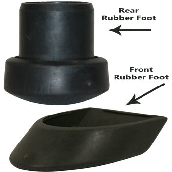 Tacx Rubber Feet for the Bushido and Satori Trainers