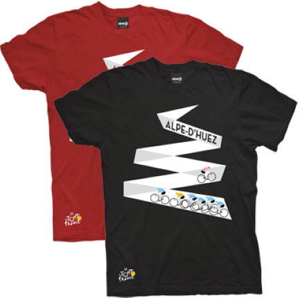 Tour de France Ride Mountain Project - Alpe D'Huez Tシャツ