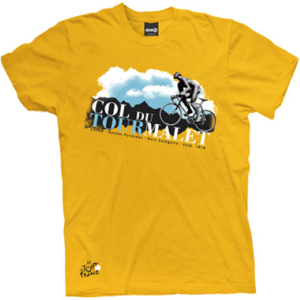 Tour de France Ride Mountain Project Col du Tourmalet T-shirt