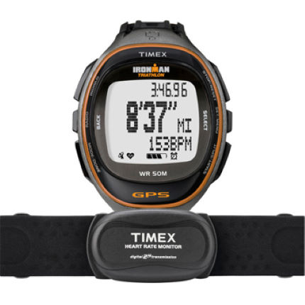 Timex Ironman Run Trainer GPS With 2.4GHz HR Strap