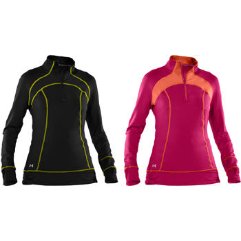 Under Armour Ladies Mynx ColdGear 1/2 Zip Top AW11