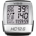 VDO HC12.6 HRM and Cycle Computer