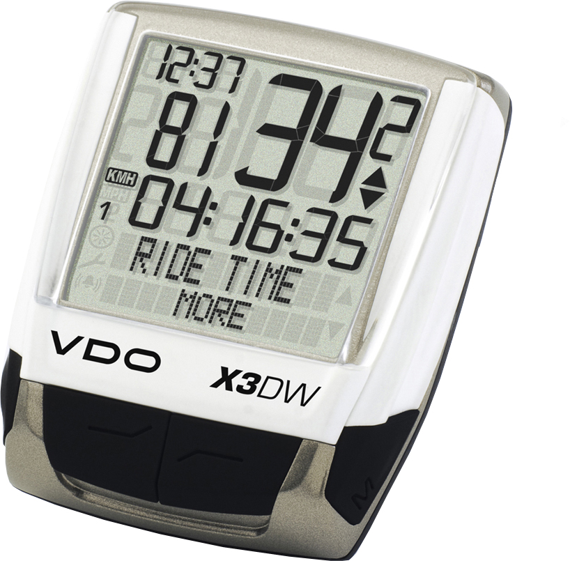 Vdo X3dw Digital Wireless Cycle Computer Cycle