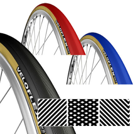 Veloflex Master 20 Clincher Folding Road Tyre