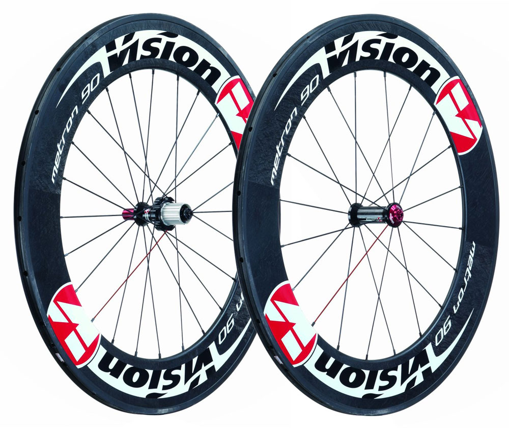 roues de comp tition sur route vision metron 90 carbon tubular wheelset wiggle france. Black Bedroom Furniture Sets. Home Design Ideas