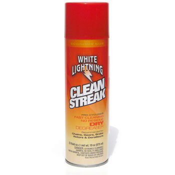 White Lightning Clean Streak Bike Cleaner 675ml Aerosol