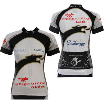 Wiggle Ladies Dragon Ride Short Sleeve Jersey 2012