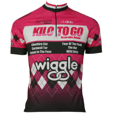 Wiggle Kilo-To-Go Short Sleeve Cycling Jersey