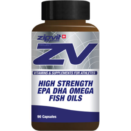 ZipVit Sport ZV High Strength Omega Fish Oils - 90 Capsules