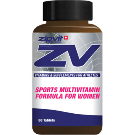 ZipVit Sport ZV MultiVit Supplement for Women - 60 Tablets