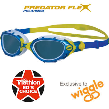 Zoggs Predator Flex Polarized Goggles - Exclusive