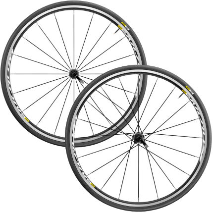 Mavic Aksium Elite Wheelset (WTS)