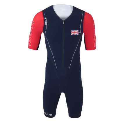 HUUB Long Course Suit GB Patriot Ed triatlonpak