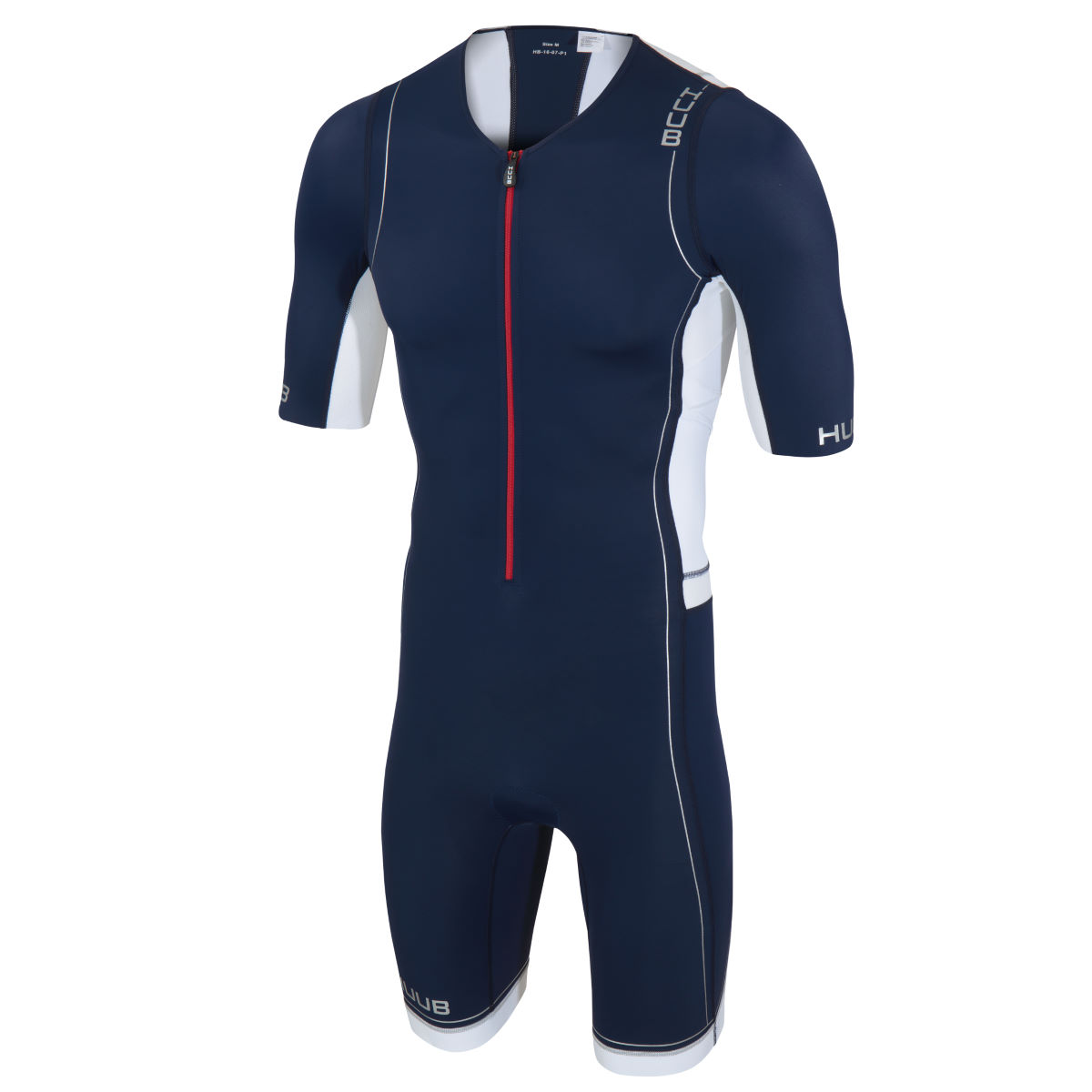 Trifonction HUUB Core Long Course - Extra Small Marine/Blanc Trifonctions