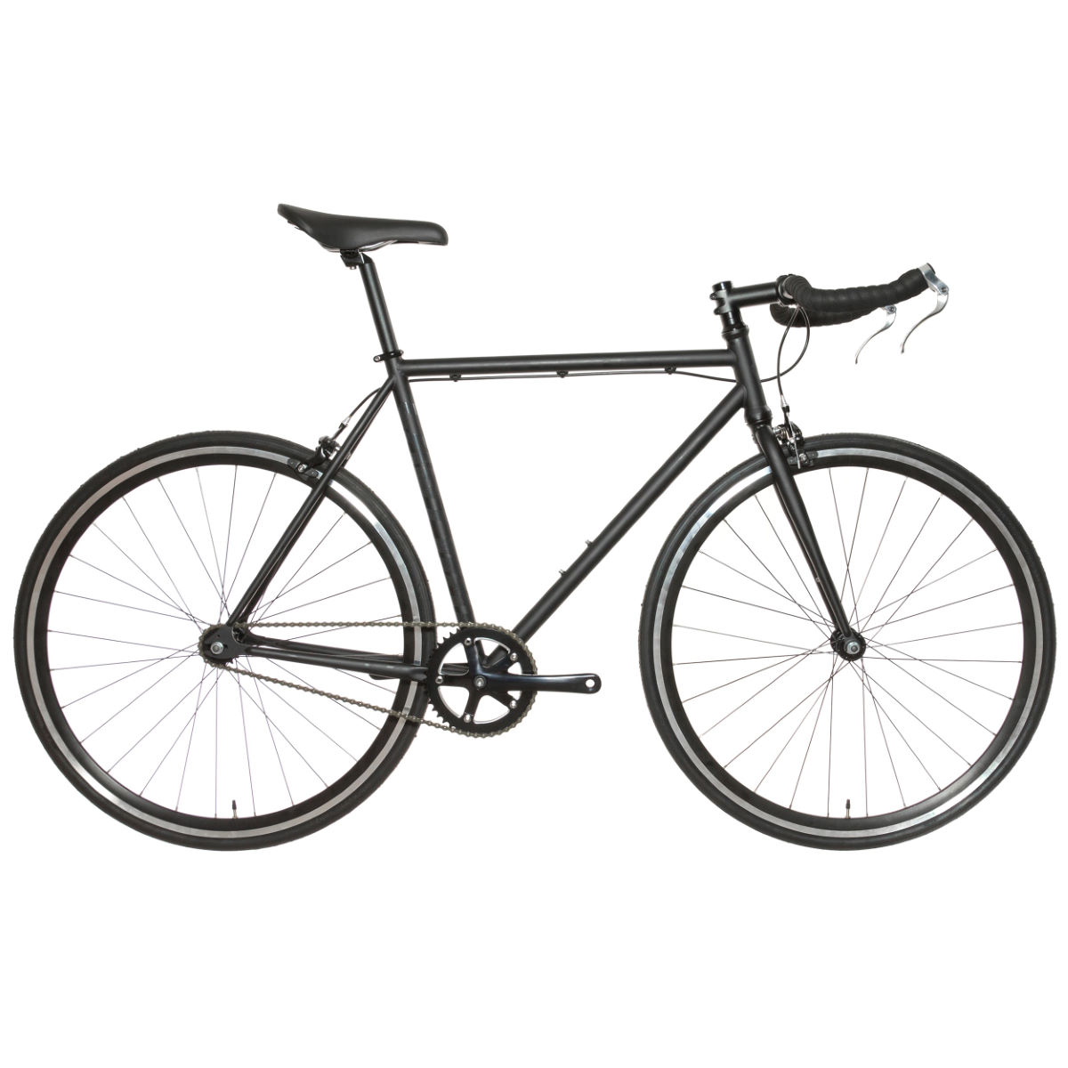 Vélo Eastway Single Speed - 54cm Stock Bike Noir Single speed