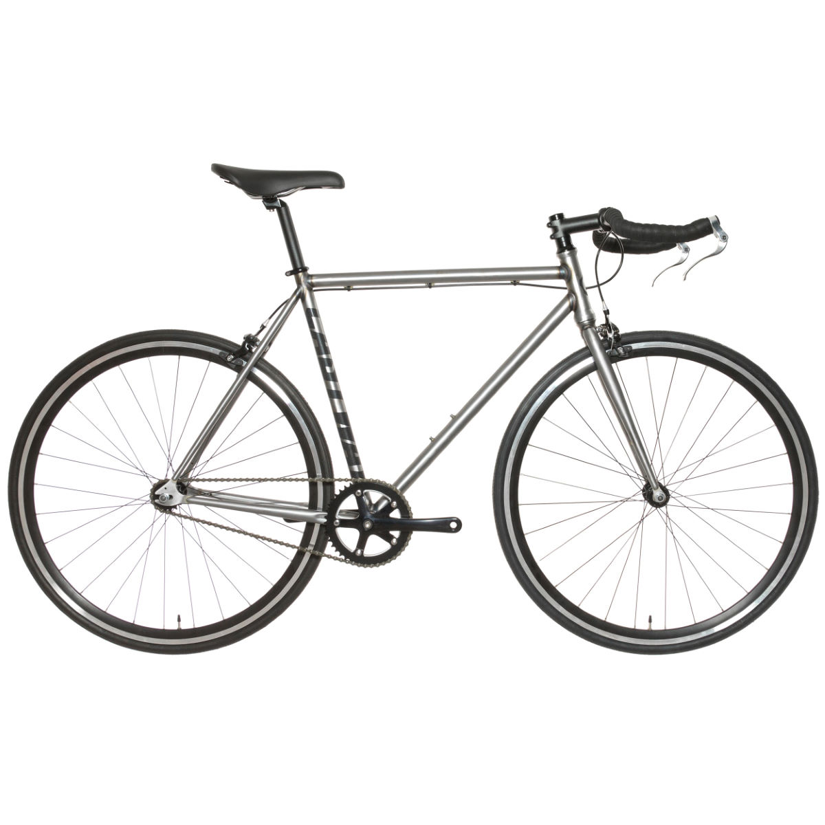 Vélo Eastway Single Speed - 58cm Stock Bike Gris Single speed