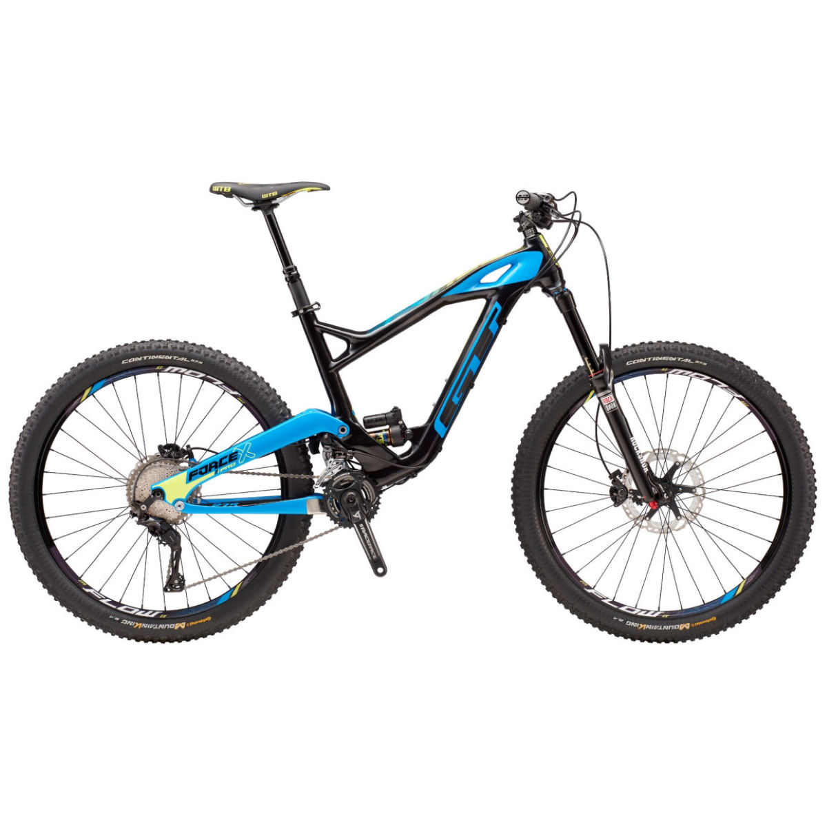 VTT GT Force Carbon Pro (2016) - Small Stock Bike Raw VTT tout suspendu