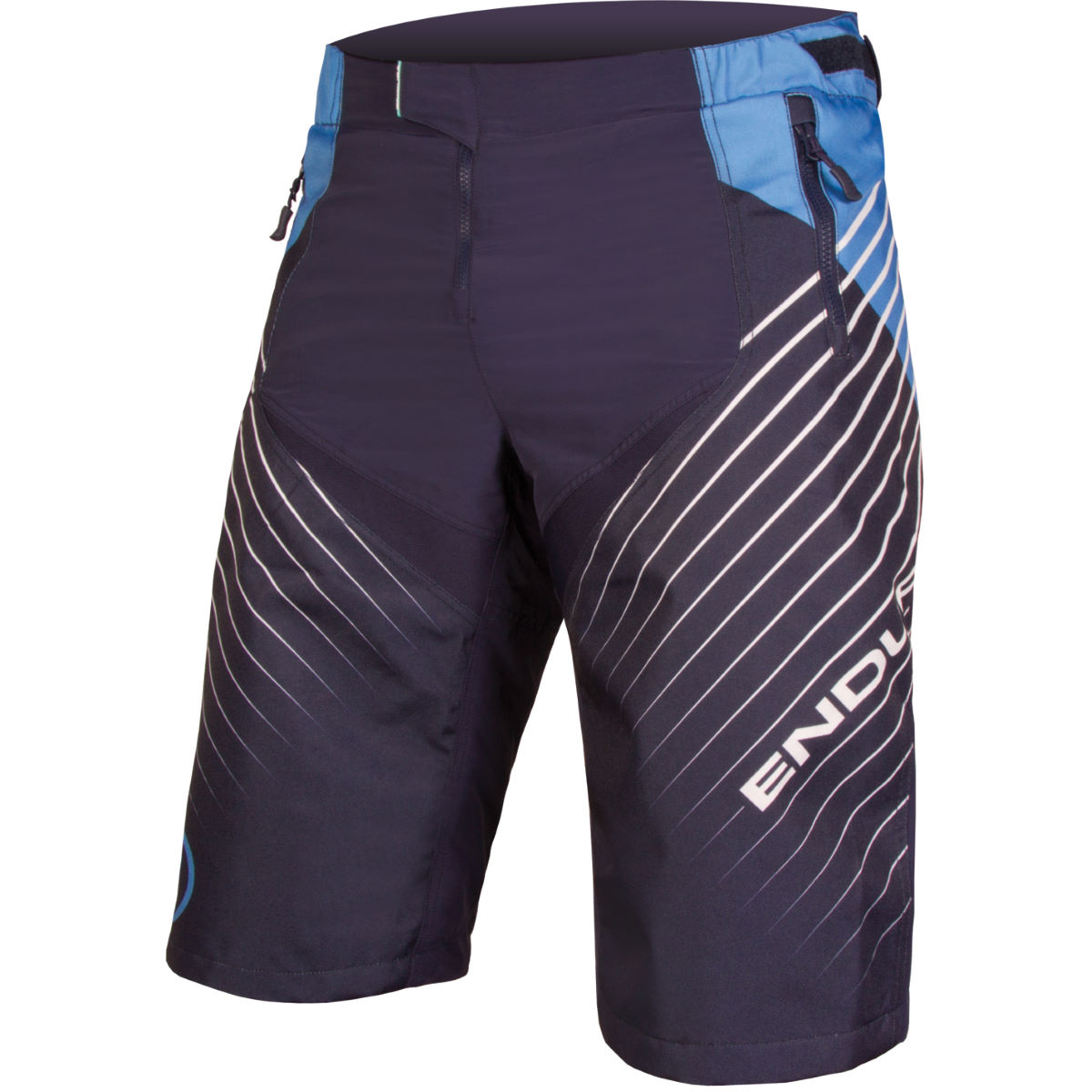 Short Endura MT500 Burner DH LTD - XLarge Bleu marine Shorts VTT