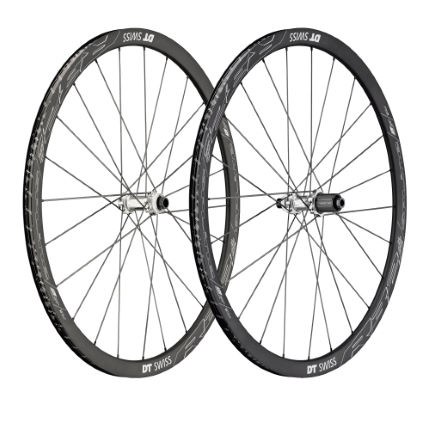 Set di ruote clincher DT Swiss R32 Spline per freni a disco (Shimano)