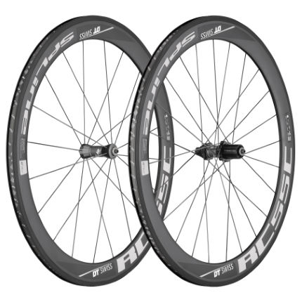 DT Swiss RC 55 Spline C C Wheelset (Black Hub) (Shimano)