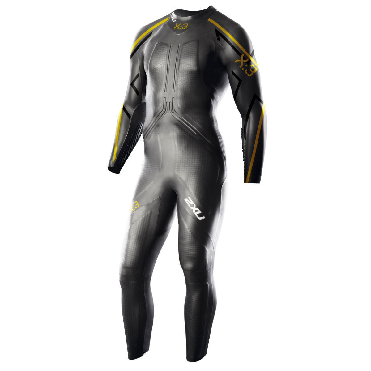 2XU X:3 Project X Wetsuit - Small/Medium Black/Gold | Wetsuits
