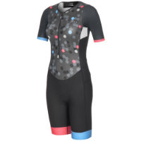 dhb Womens Blok Short Sleeve Tri Suit