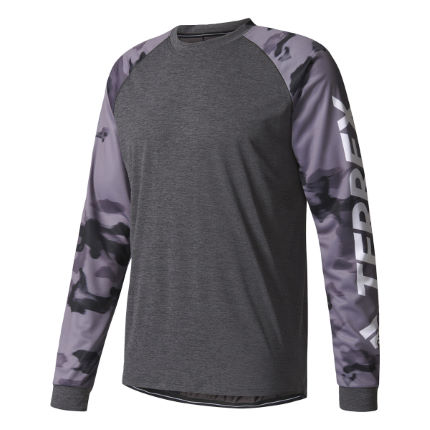 Adidas Trail Cross Long Sleeve Tee