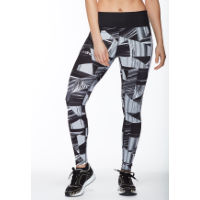 dhb Womens Print Tight (Black/Camo)