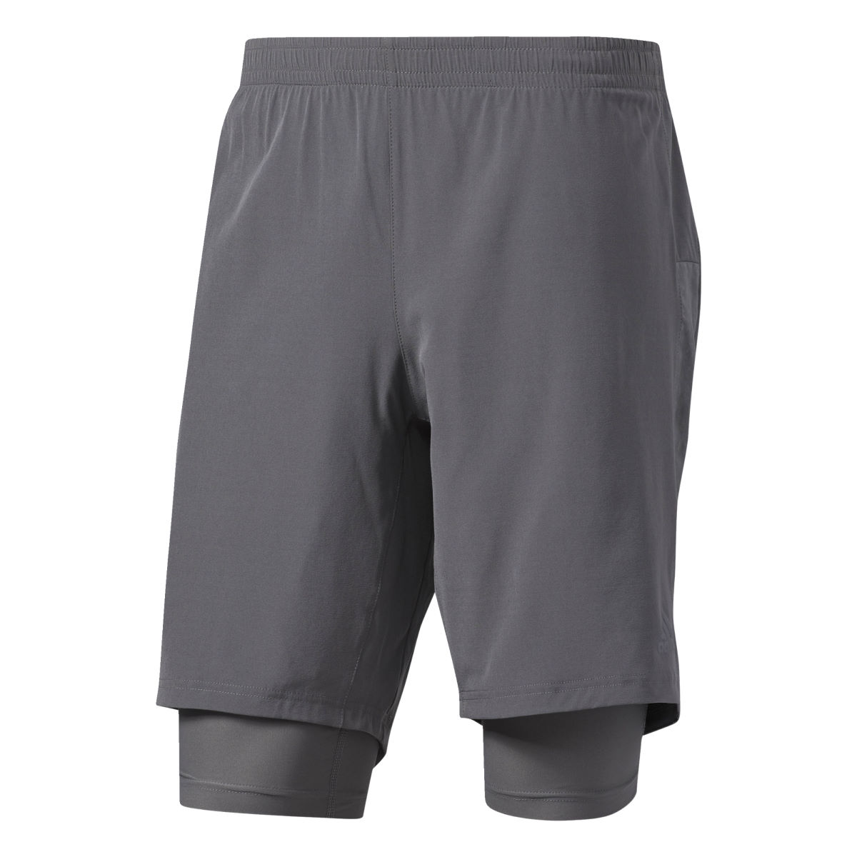 Short Adidas Supernova Dual - S7'' Grey Five Shorts de running