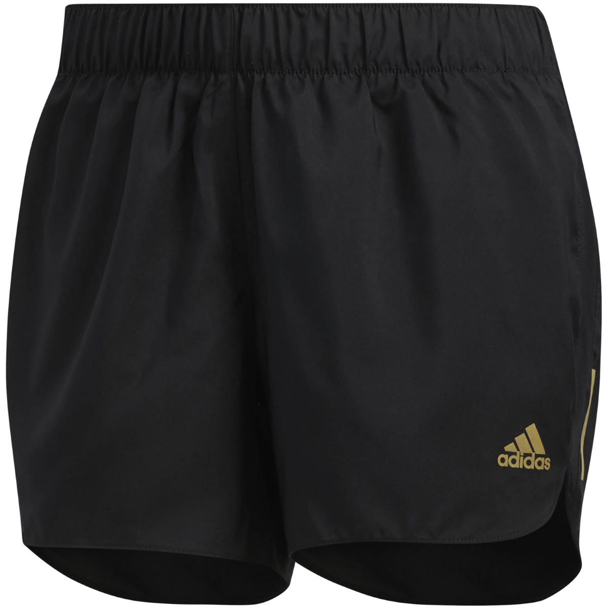 Short Femme Adidas Response - Medium BLACK/GOLD MET.