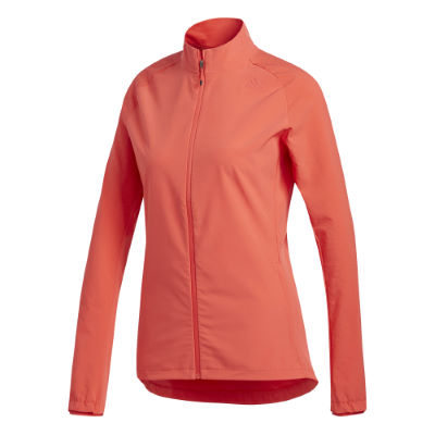 Chaqueta adidas Supernova Storm para mujer - Impermeables - running REAL CORAL Extra Large