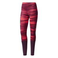 Adidas Techfit Long Print Tights - Dame