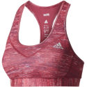 Adidas Womens Techfit Macrohth Bra Red L
