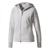 adidas Womens ZNE Hood 2 Pulse Top