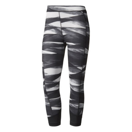 Leggings donna Adidas Techfit 2 (a 3/4, fantasia)