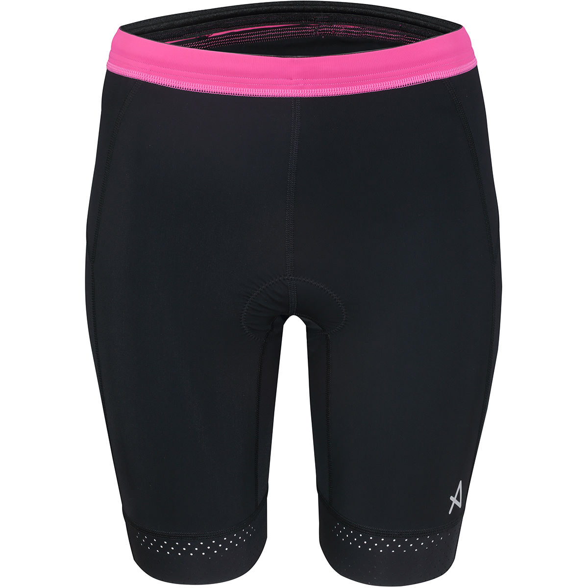 HUUB Women's Tana Tri Shorts - Extra Small Black/Pink | Tri Shorts